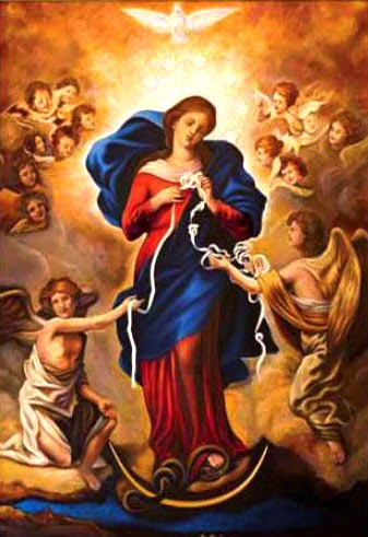 Mary Undoer of Knots Pope Francis Prayer