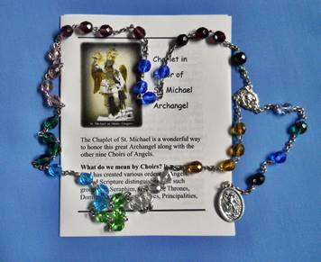 st michaels chaplet